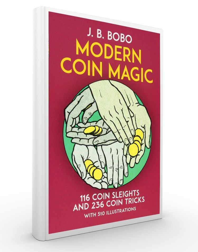 MODERN COIN MAGIC - J.B.Bobo