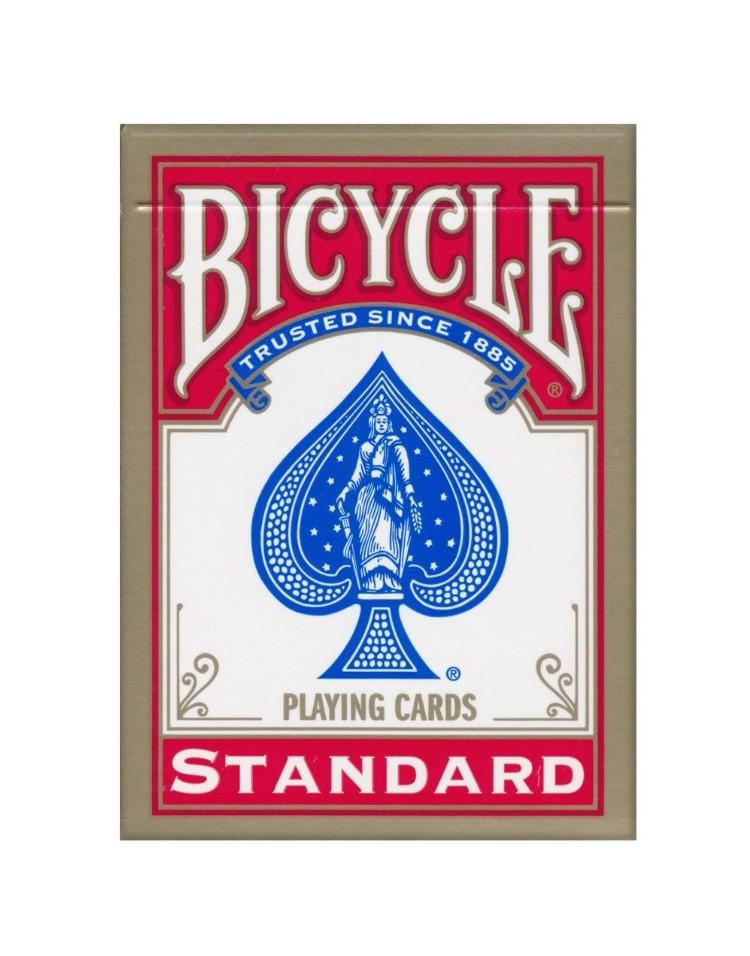 Sam Sebastian Magic Shop - Bicycle 808 Gold USA Igralne Karte Rdeče