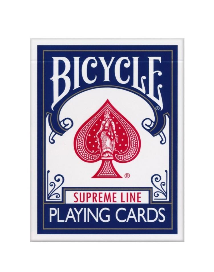 Sam Sebastian Magic Factory - Bicycle Supreme Line Igralne Karte Modre
