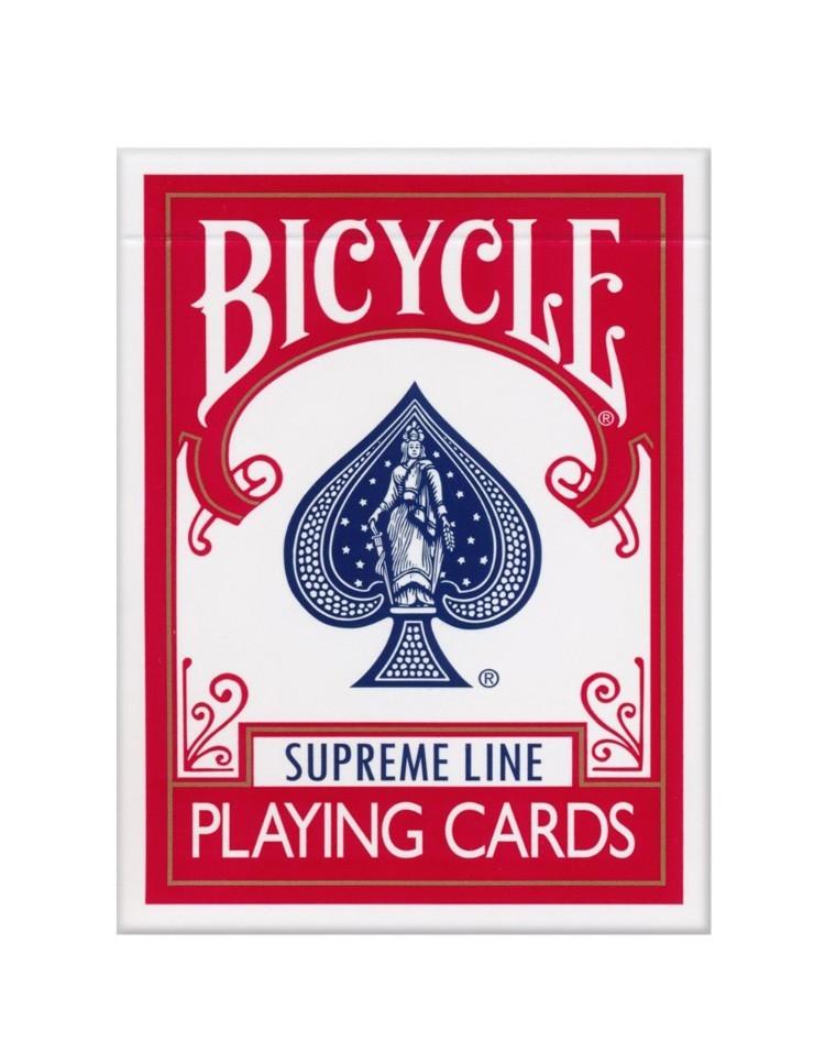 Sam Sebastian Magic Shop - Bicycle Supreme Line Igralne Karte Rdeče
