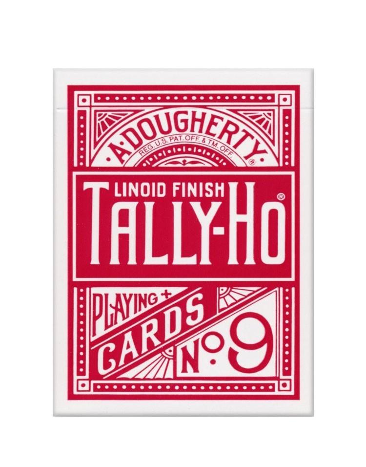 Sam Sebastian Magic Shop - Tally-Ho Circle Back Igralne Karte Rdeče