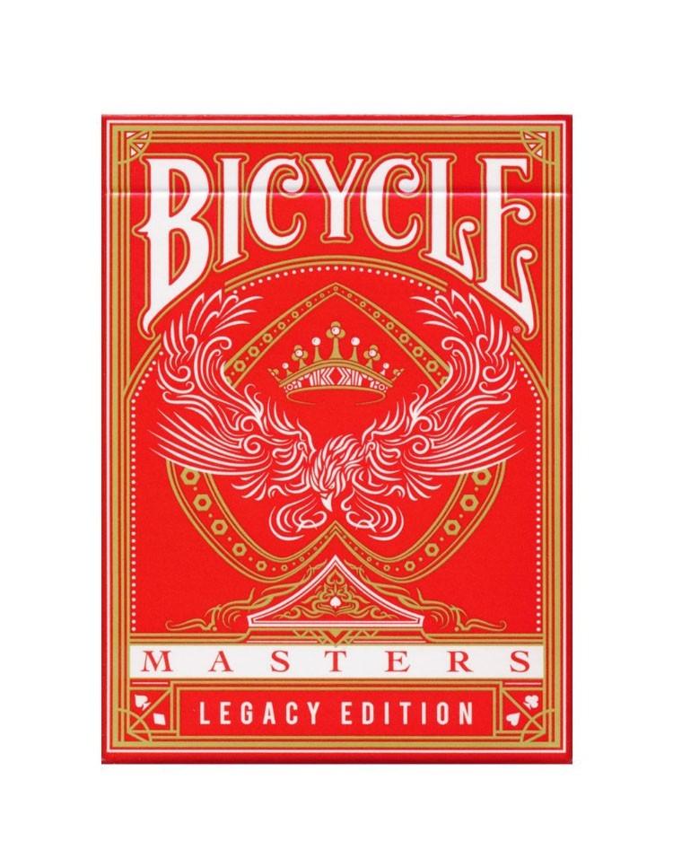 Sam Sebastian Magic Factory - Igralne Karte Bicycle Legacy Masters Red