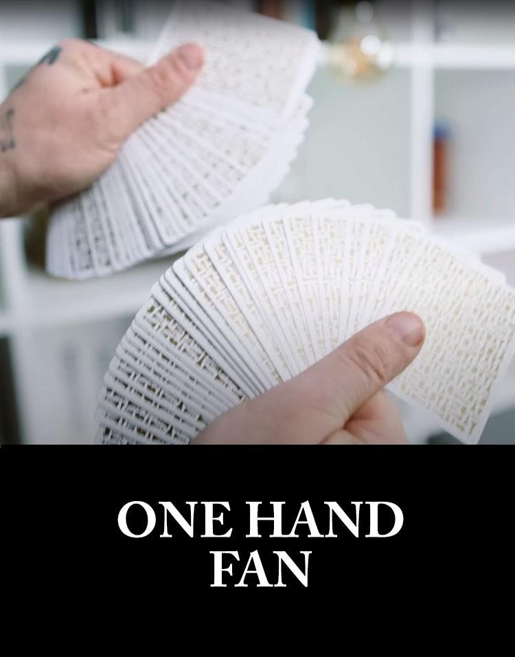 Sam Sebastian Magic Shop - One Hand Fan