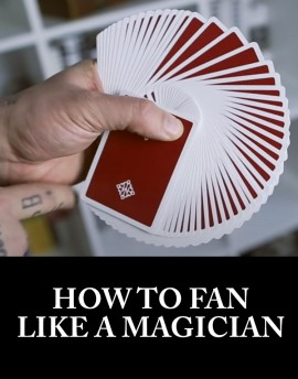 SAM SEBASTIAN MAGIC SHOP - How to Fan Like a Magician