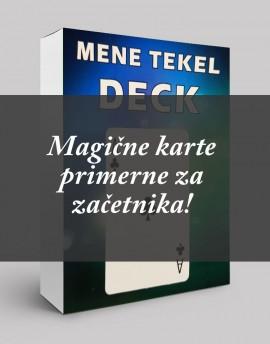 MENE TEKEL DECK + tečaj