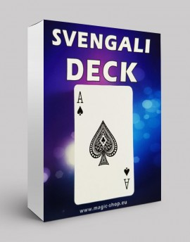 SVENGALI DECK + TEČAJ - Sam Sebastian Magic Factory