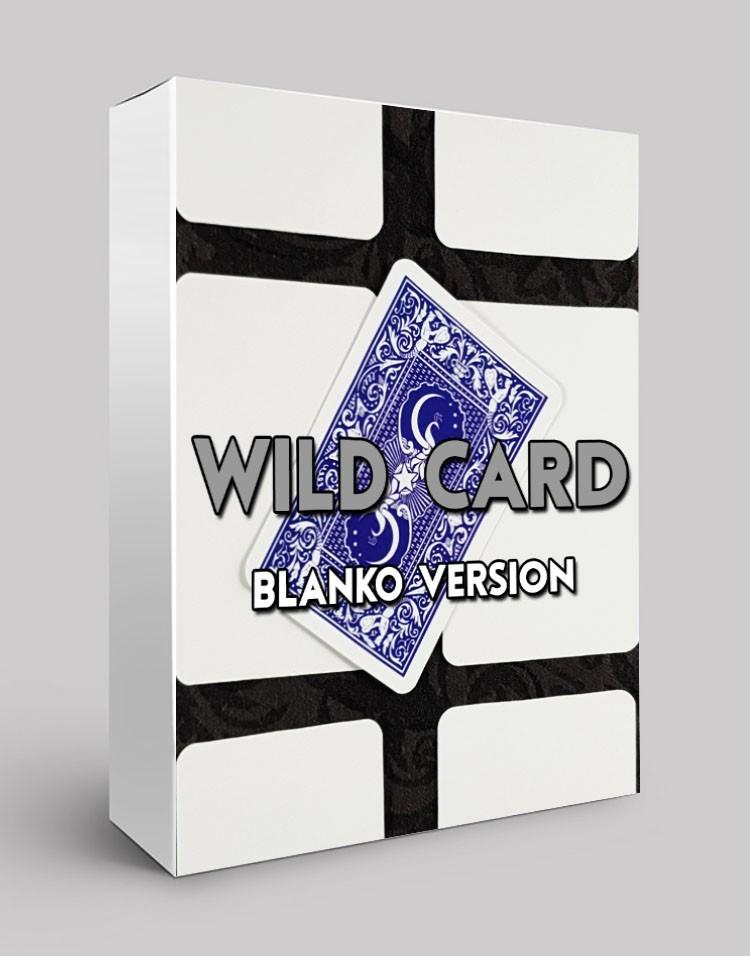 WILD CARD BLANKO - Sam Sebastian Magic Factory
