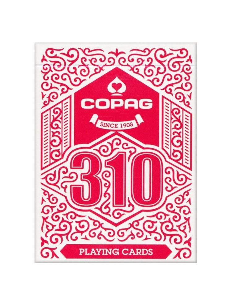 Sam Sebastian Magic Shop - COPAG 310 SlimLine Igralne Karte Rdeče