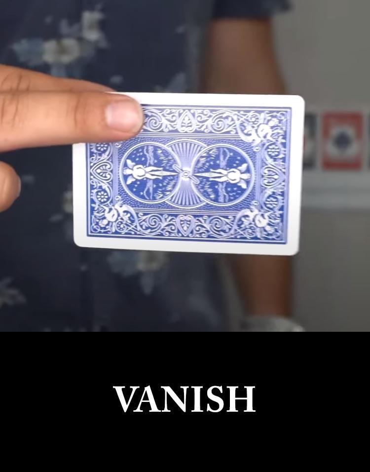 VANISH - Sam Sebastian Magic Shop