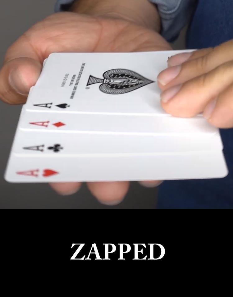 ZAPPED - Sam Sebastian Magic Shop