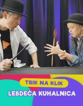 LEBDEČA KUHALNICA - Sam Sebastian Magic Factory