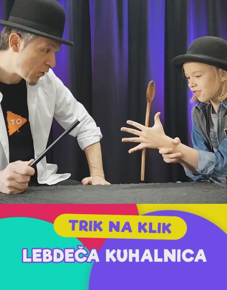 LEBDEČA KUHALNICA - Sam Sebastian Magic Factory