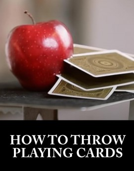 How to throw playing cards - Sam Sebastian Magic Shop