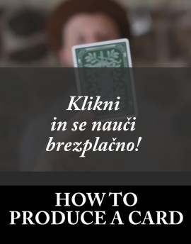 HOW TO PRODUCE A CARD